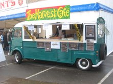 harvest cafe van