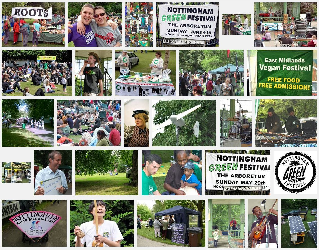 Nottingham Green Festival Gallery