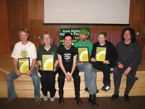 Vegan Award Ceremony Photo
