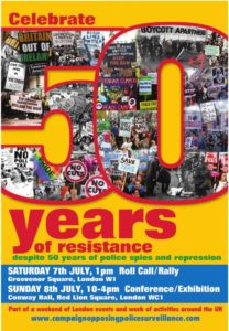 50 Years of Resistance flier