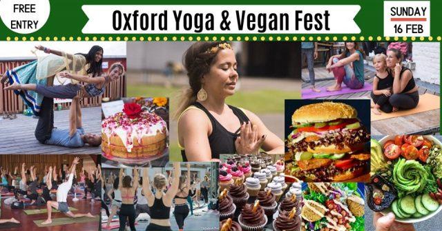 Oxford Yoga & vegan festival