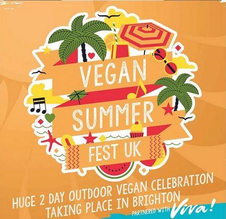 Brighton Vegan Summer Fest poster