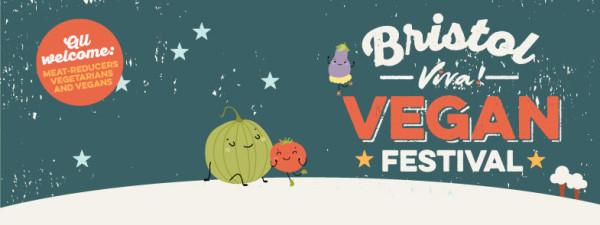 Bristol Viva vegan festival logo