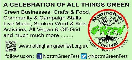 Green Festival part poster