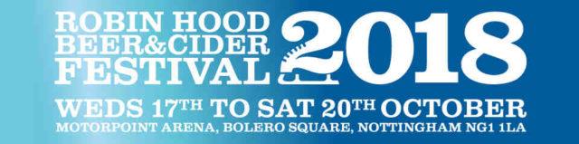 Robin Hood Beer Festival header