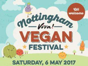 nottingham viva vegan logo