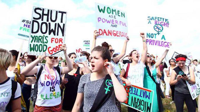 Photo of Shut Down Yarls Wood Protest
