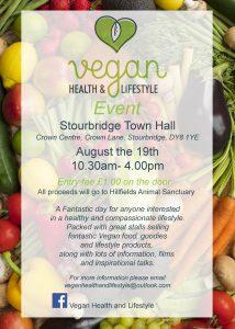 Vegan Health & lifestyle poster