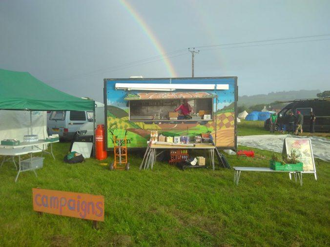 Veggies Rainbow at Northern Green Gathering
