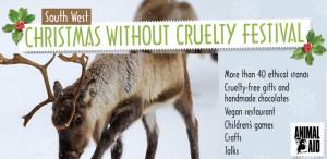 Flier for animal aid exeter fair