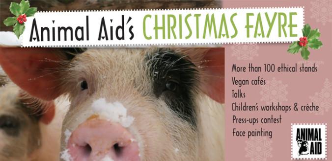 Animal Aid London Fair Flier