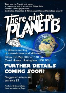 There Ain't No Planet B poster