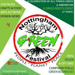 Nottingham Green Festival image