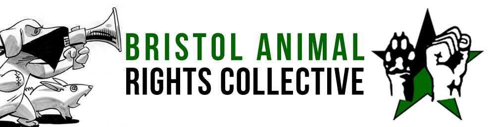 Bristol Animal Rights banner