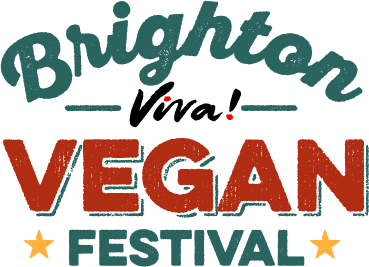 Logo for Brighton Viva Vegan Festival