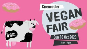 cirencester vegan fair logo