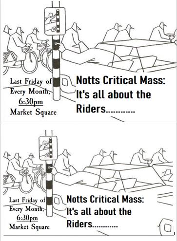 Flier image for Nottingham Critical Mass