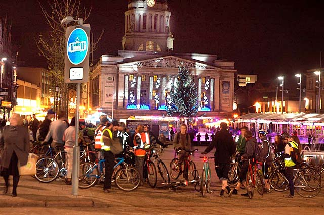 Nottingham Critical Mass Bike Ride