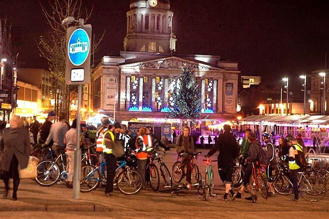 Nottingham Critical Mass Bike Ride