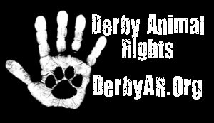 Derby animal rights logo