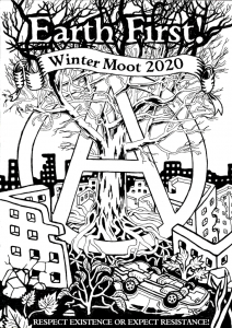 Earth First 2020 Moot flier