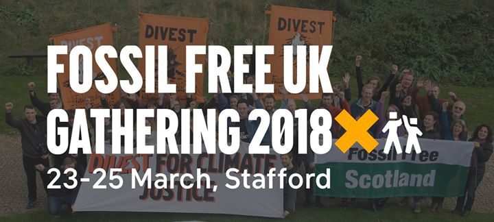 Fossil Free UK Gathering 2018
