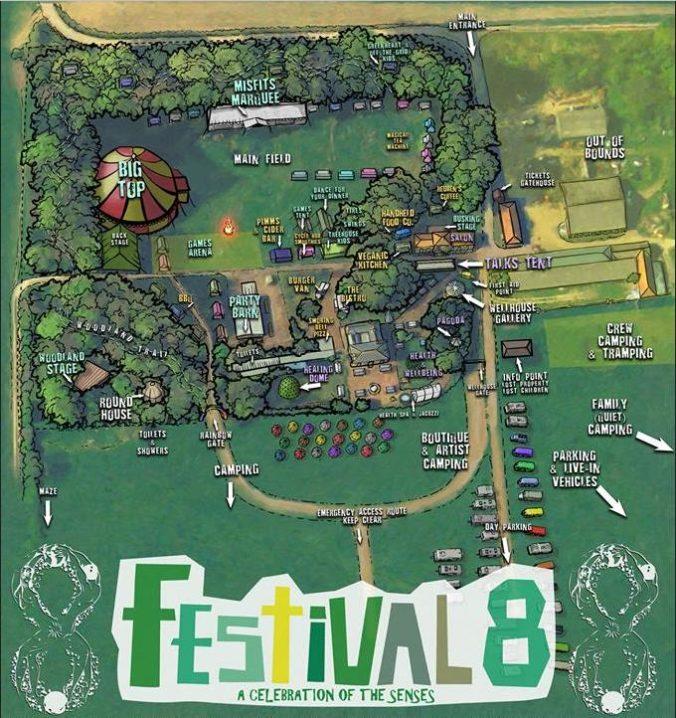 Festival 8 site plan