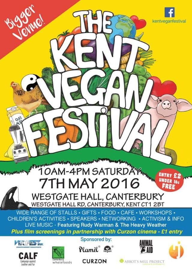 kent vegan festival Poster