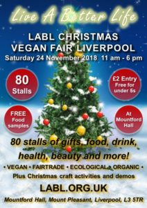 liverpool chrstmas vegan fair
