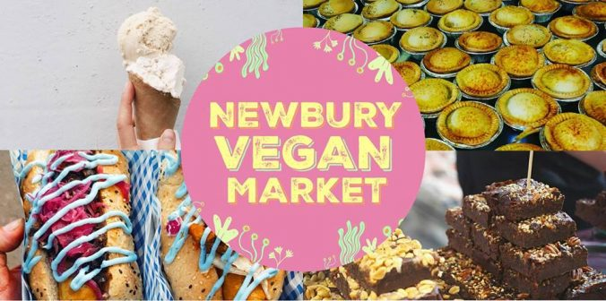 newbury vegan market logo