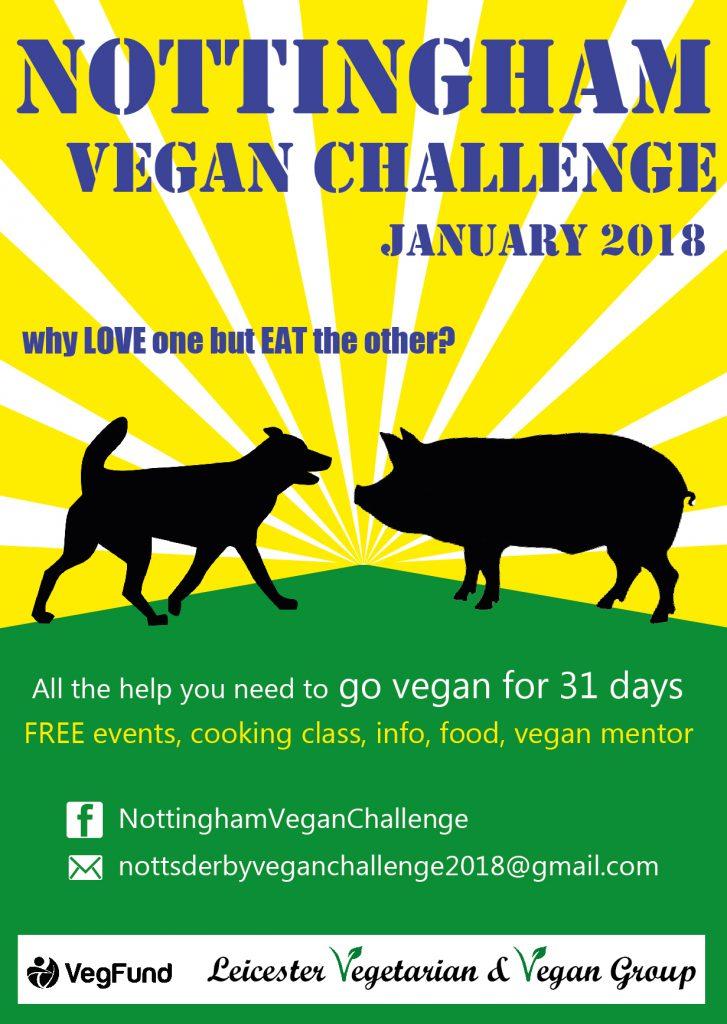 Vegan Challenge Logo