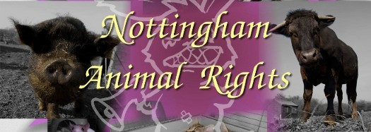 Nottingham animal rights logo