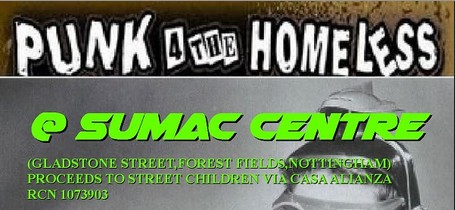 Punk for the homeless