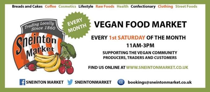 sneinton vegan market flier