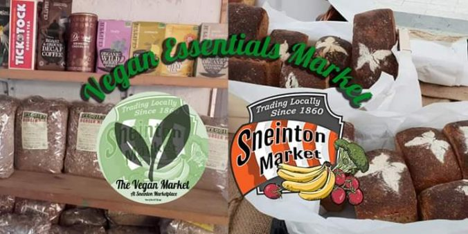 Sneinton Vegan Market banner