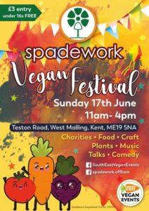 spadework vegan festival