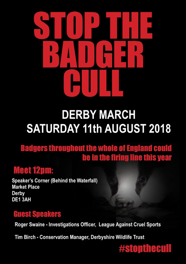 stop the cull march poster