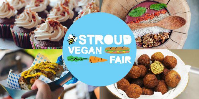 stroud vegan fair logo