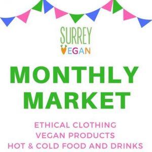 surrey vegan market image