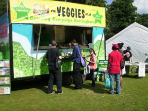 Veggies Catering Trailer