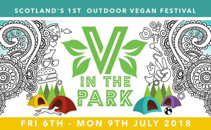 v in the park logo