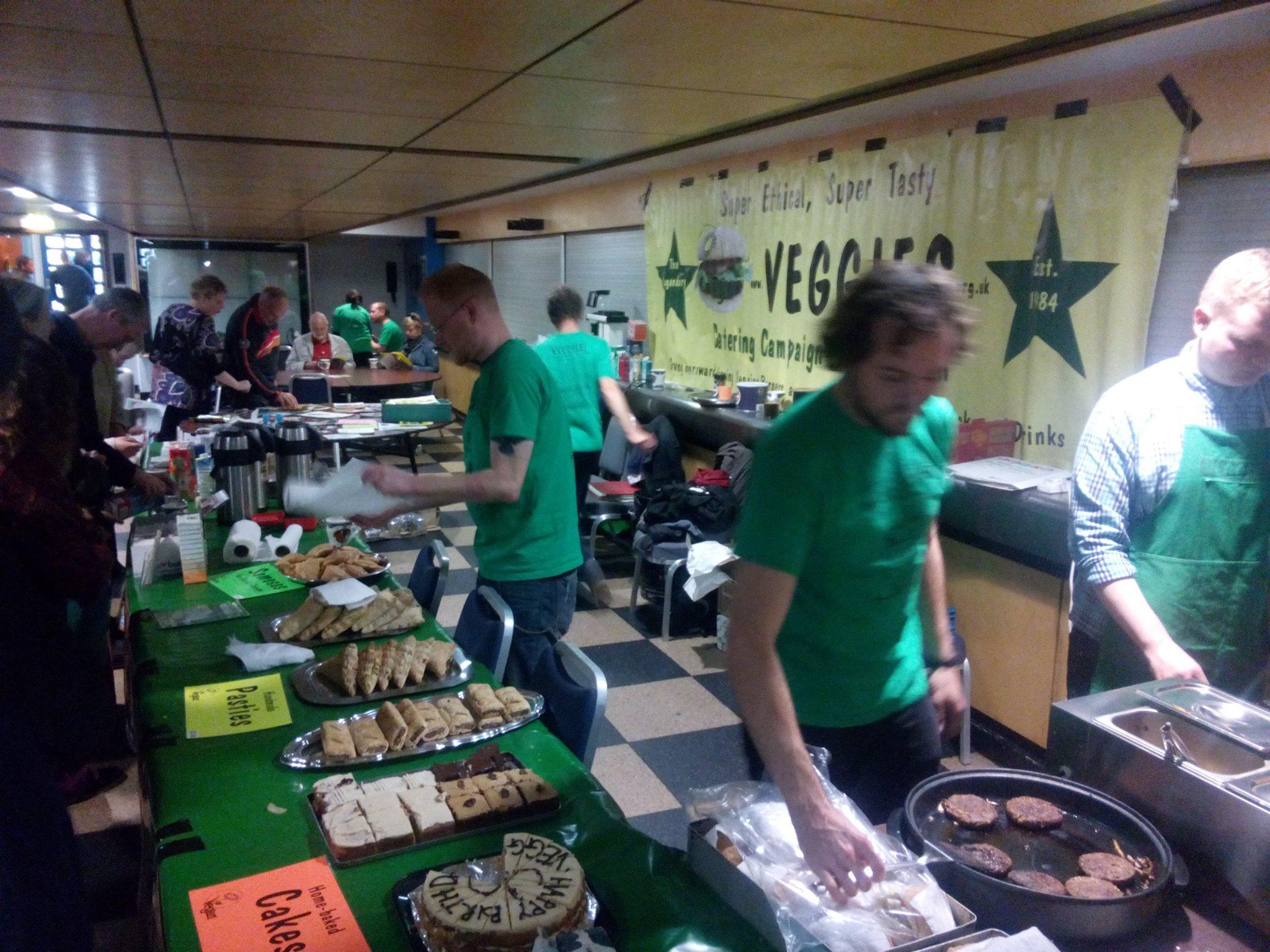Veggies Vegan Catering Campaign Nottingham